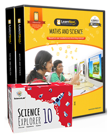 Maths, Science, English and Social Science with All India Test Series, Science Kits