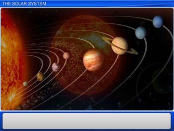 Animated video Lecture for The Solar System