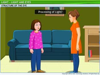 Animated video Lecture for Light and Eyes