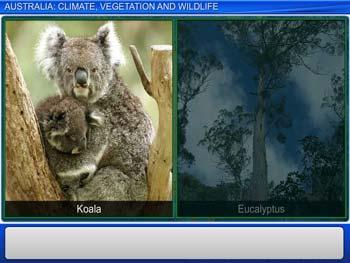 Animated video Lecture for Australia: Climate, Vegetation and Wildlife