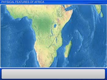 Animated video Lecture for Physical Features of Africa