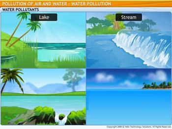 Animated video Lecture for Water Pollution