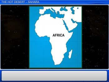 Animated video Lecture for The Hot Desert - Sahara