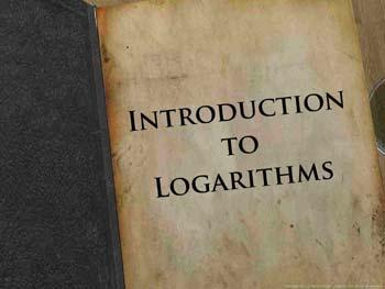 Animated video Lecture for Introduction to logarithms