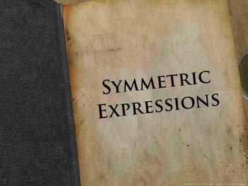 Animated video Lecture for Symmetric Expressions