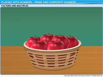 Animated video Lecture for Prime and Composite Numbers