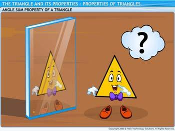 Animated video Lecture for Properties of Triangles