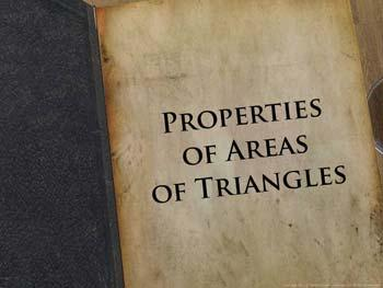 Animated video Lecture for Properties of Areas of Triangles