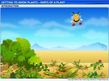 Animated video Lecture for Parts of a Plant