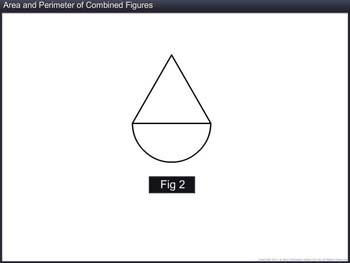 Animated video Lecture for Area and Perimeter of Combined Figures