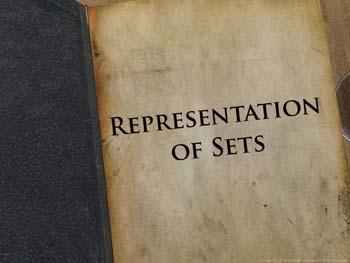 Animated video Lecture for Representation of Sets