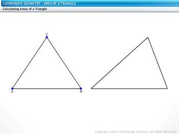 Animated video Lecture for Area of Triangle