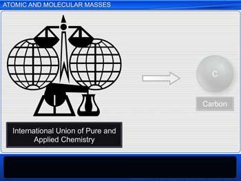 Animated video Lecture for Atomic and Molecular Masses