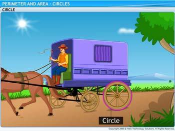 Animated video Lecture for Circles