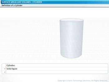 Animated video Lecture for Cylinder