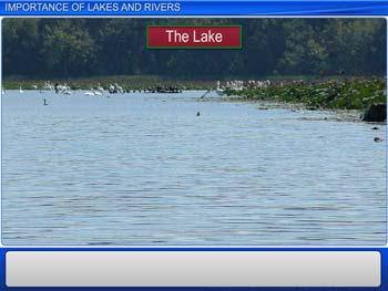 Animated video Lecture for Importance of Lakes and Rivers