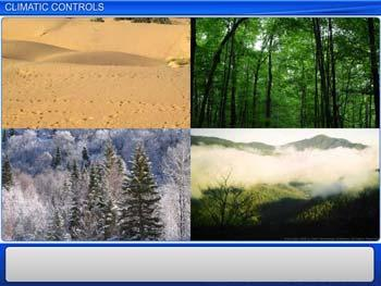 Animated video Lecture for Climatic Controls