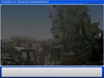 Animated video Lecture for Stages of Disaster Management