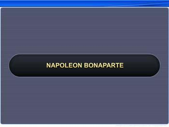 Animated video Lecture for Napoleon Bonaparte