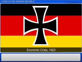 Animated video Lecture for Living in the Weimar Republic