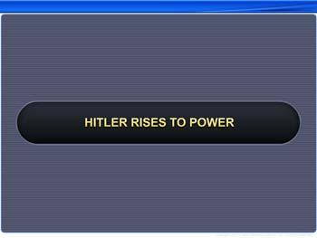 Animated video Lecture for Hitler Rises to Power