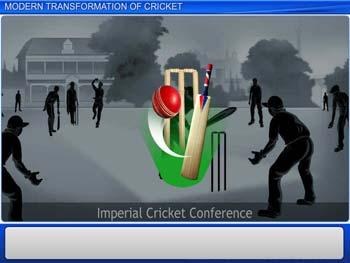 Animated video Lecture for Modern Transformation of Cricket
