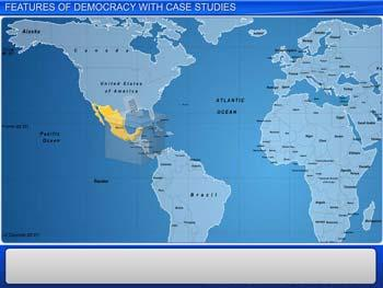Animated video Lecture for Features of Democracy With Case Studies