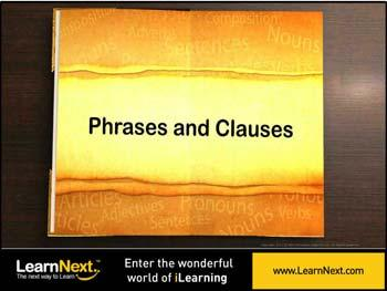 Animated video Lecture for Introduction to Phrases and Clauses