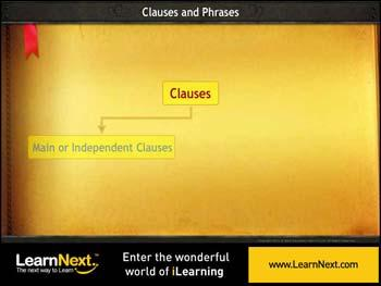 Animated video Lecture for Clauses - Types