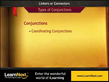 Animated video Lecture for Coordinating Conjunctions