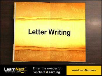 Animated video Lecture for Informal Letter Writing - Format and Sample