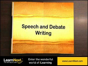 Animated video Lecture for Speech Writing