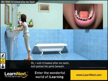 Animated video Lecture for Oh, I Wish I'd Looked After Me Teeth