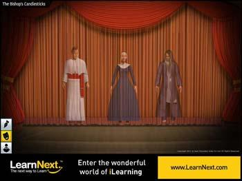 Animated video Lecture for The Bishop's Candlesticks