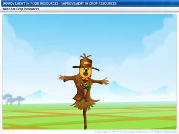 Animated video Lecture for Improvement of Crop Resources