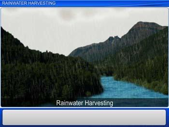 Animated video Lecture for Rainwater Harvesting