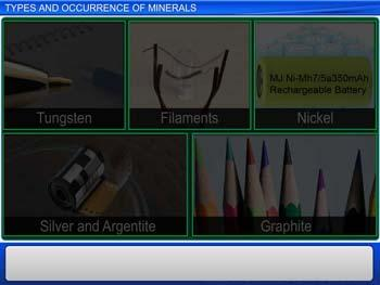 Animated video Lecture for Types and Occurrence of Minerals