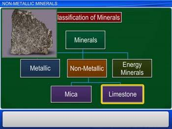 Animated video Lecture for Non-Metallic Minerals
