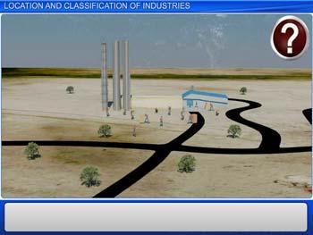 Animated video Lecture for Location and Classification of Industries