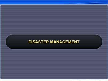 Animated video Lecture for Disaster Management