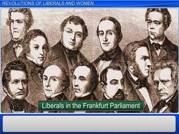 Animated video Lecture for Revolutions of Liberals and Women