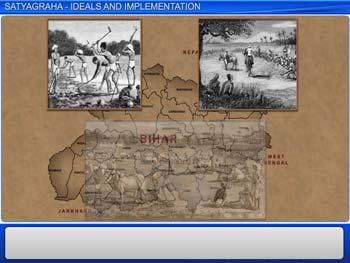 Animated video Lecture for Satyagraha - Ideals and Implementation