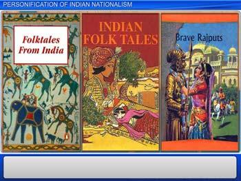 Animated video Lecture for Personification of Indian Nationalism