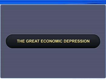 Animated video Lecture for The Great Economic Depression