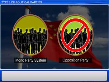 Animated video Lecture for Types of Political Parties