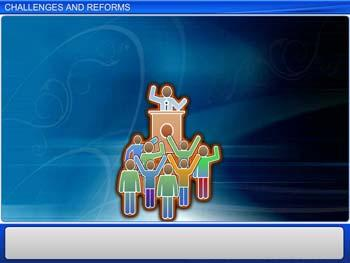 Animated video Lecture for Challenges And Reforms