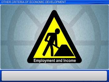 Animated video Lecture for Other criteria of economic development