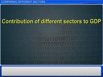 Animated video Lecture for Comparing Different Sectors