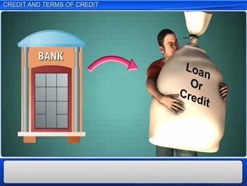 Animated video Lecture for Credit and Terms of Credit