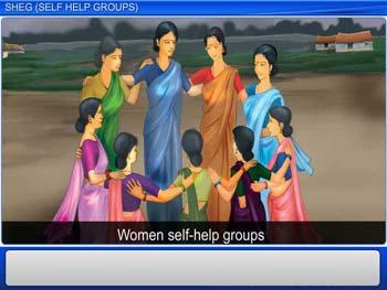 Animated video Lecture for SHEG (Self Help Groups)